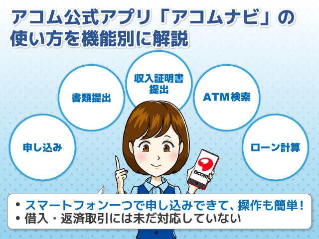 アコムアプリ